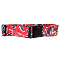 Atlanta Falcons 2 Inch Wide Dog Collar