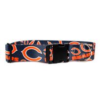 Chicago Bears 2 Inch Wide Dog Collar