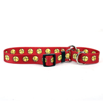 Jingle Bells Martingale Dog Collar