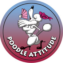 Poodle Attitude Magnet