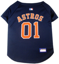 Houston Astros MLB Pet JERSEY