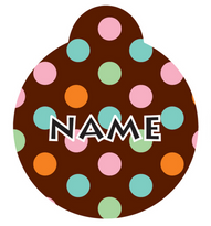 Neopolitan HD Pet ID Tag