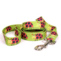 Lovely Ladybugs Dog Leash