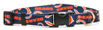 Chicago Bears Dog Collar