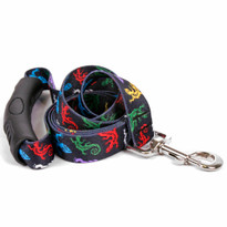 Geckos Black EZ-Grip Dog Leash