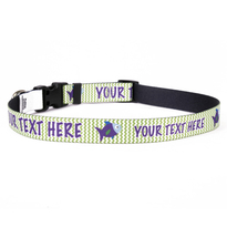 Personalized Fishtales Dog Collar