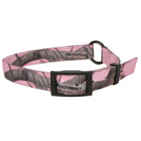Real Tree Pink Camouflage Buckle Dog Collar