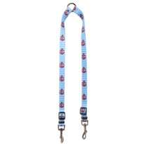 Anchors on Blue Stripes Coupler Dog Leash