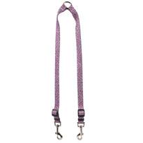 Pink Tweed Coupler Dog Leash