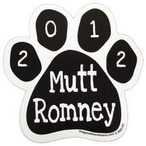Mutt Romney Paw Magnet