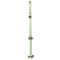 Southern Dawg Gingham Green Ding Dog Bells Training System
