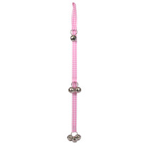 Southern Dawg Gingham Pink Ding Dog Bells Training System