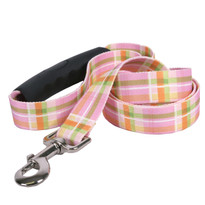 Southern Dawg Madras Pink Premium Dog Leash