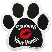 Smooch Your Pooch Paw Magnet
