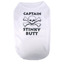 Captain Stinky Butt Pet T-Shirt