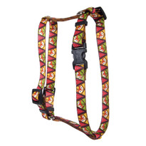 Fall Fox Roman Style H Dog Harness