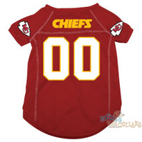 Kansas City Chiefs NFL Football Dog Jersey - CLEARANCE