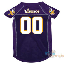Minnesota Vikings NFL Football Dog Jersey - CLEARANCE