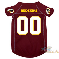 Washington Redskins NFL Football Dog Jersey - CLEARANCE