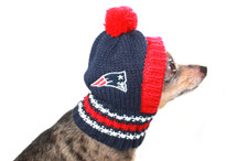New England Patriots NFL Knit Hat For Dogs