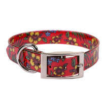Hibiscus Flower Elements Dog Collar