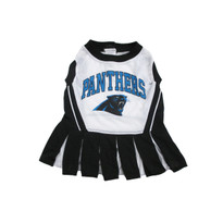 Carolina Panthers NFL Football Pet Cheerleader Outfit