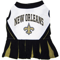 New Orleans Saints NFL Football Pet Cheerleader Outfit