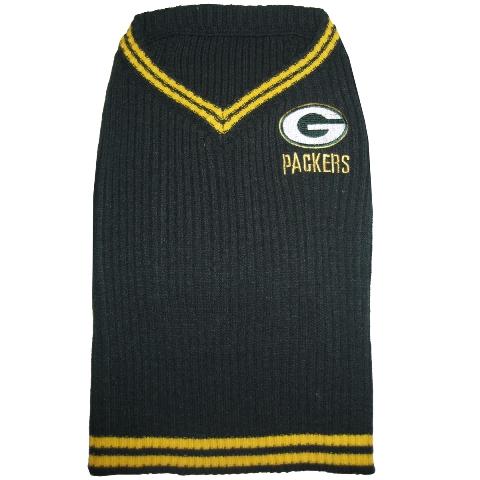 Green Bay Packers NFL Football Pet/ Dog Sweater GBP-4012-XS